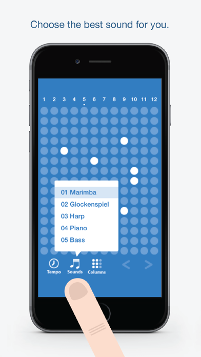 Screen Shot Tones - Fun and easy to use music creation app 1
