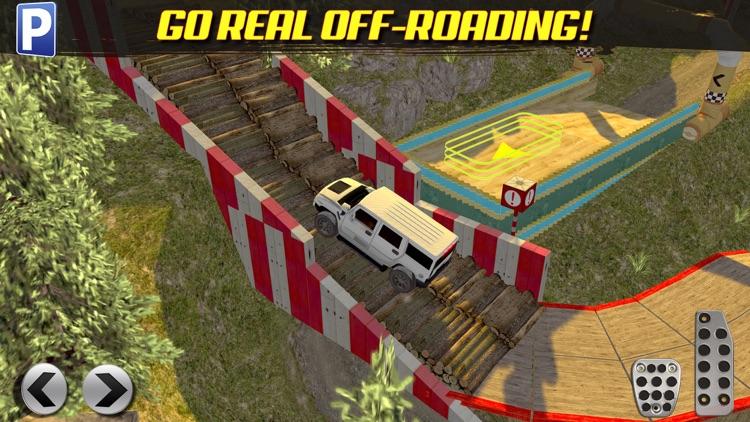 Offroad 4x4 Truck Trials Parking Simulator a Real Car Stunt Driving Racing Sim screenshot-3