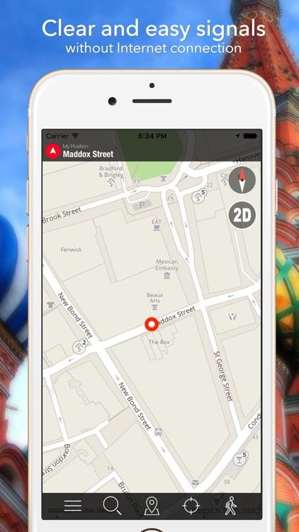 New London Offline Map Navigator and Guide screenshot-4