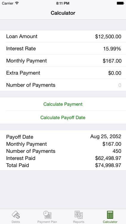 Debt Relief - Debt Payoff Assistant screenshot-4