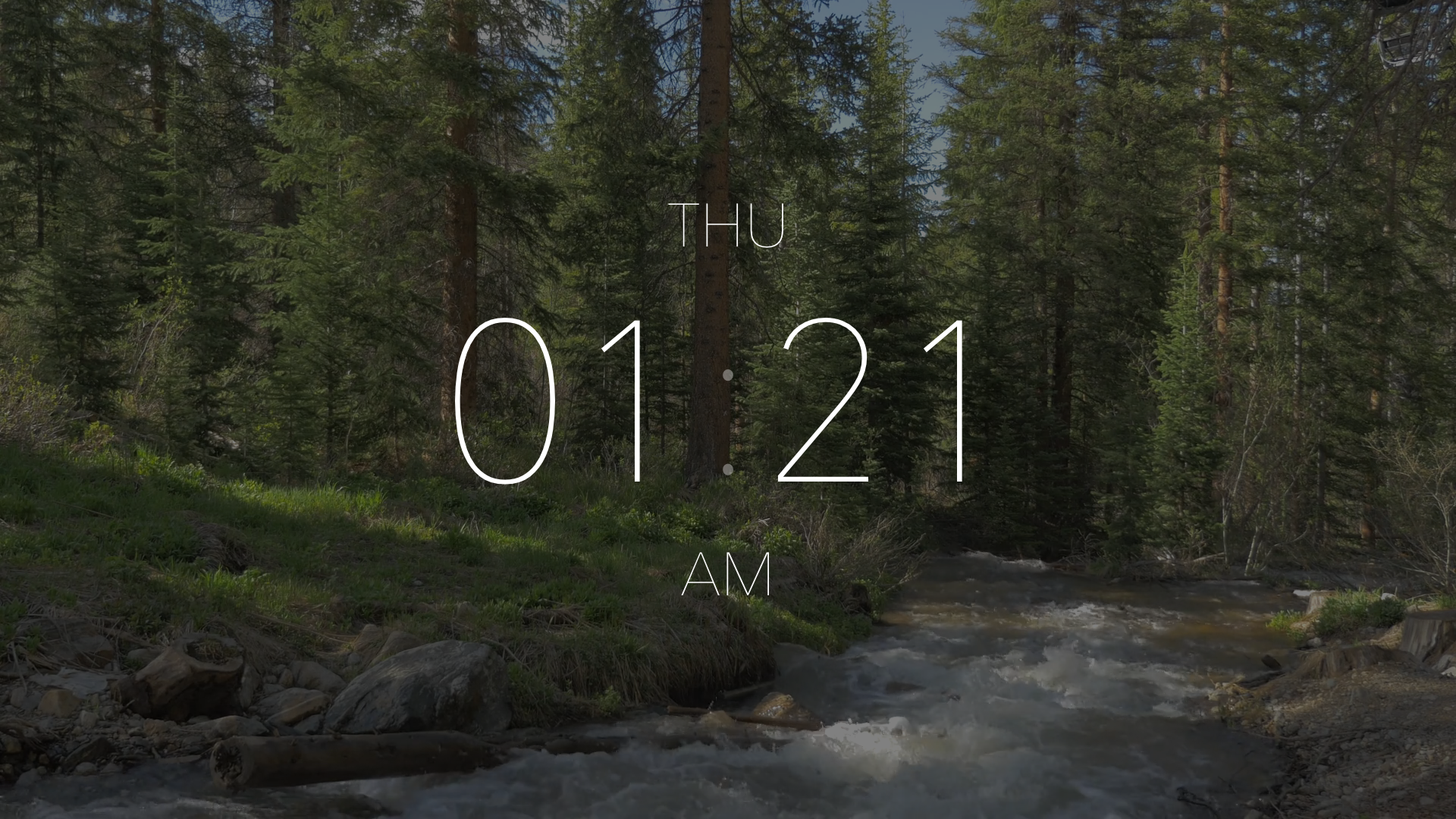 Ellie - A Beautiful TV Clock screenshot 3