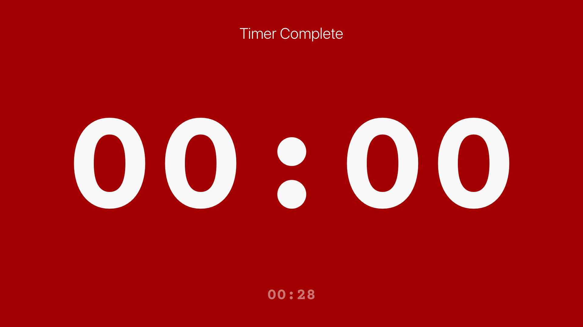 Timer for Rehearsal/Live: Fin screenshot 19