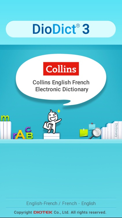 Collins French-English  Dictionary - DioDict3