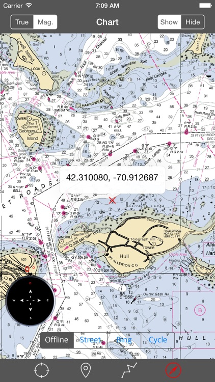 Massachusetts Bay – Raster Nautical Charts screenshot-3