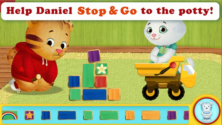 Daniel Tiger's Stop & Go Potty screenshot-2