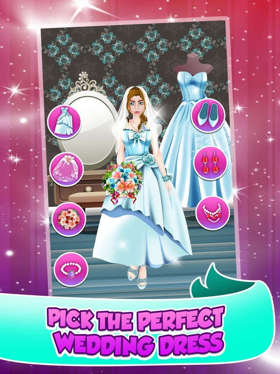 Princess Wedding Salon Spa Party Face Paint Makeover Dress Up