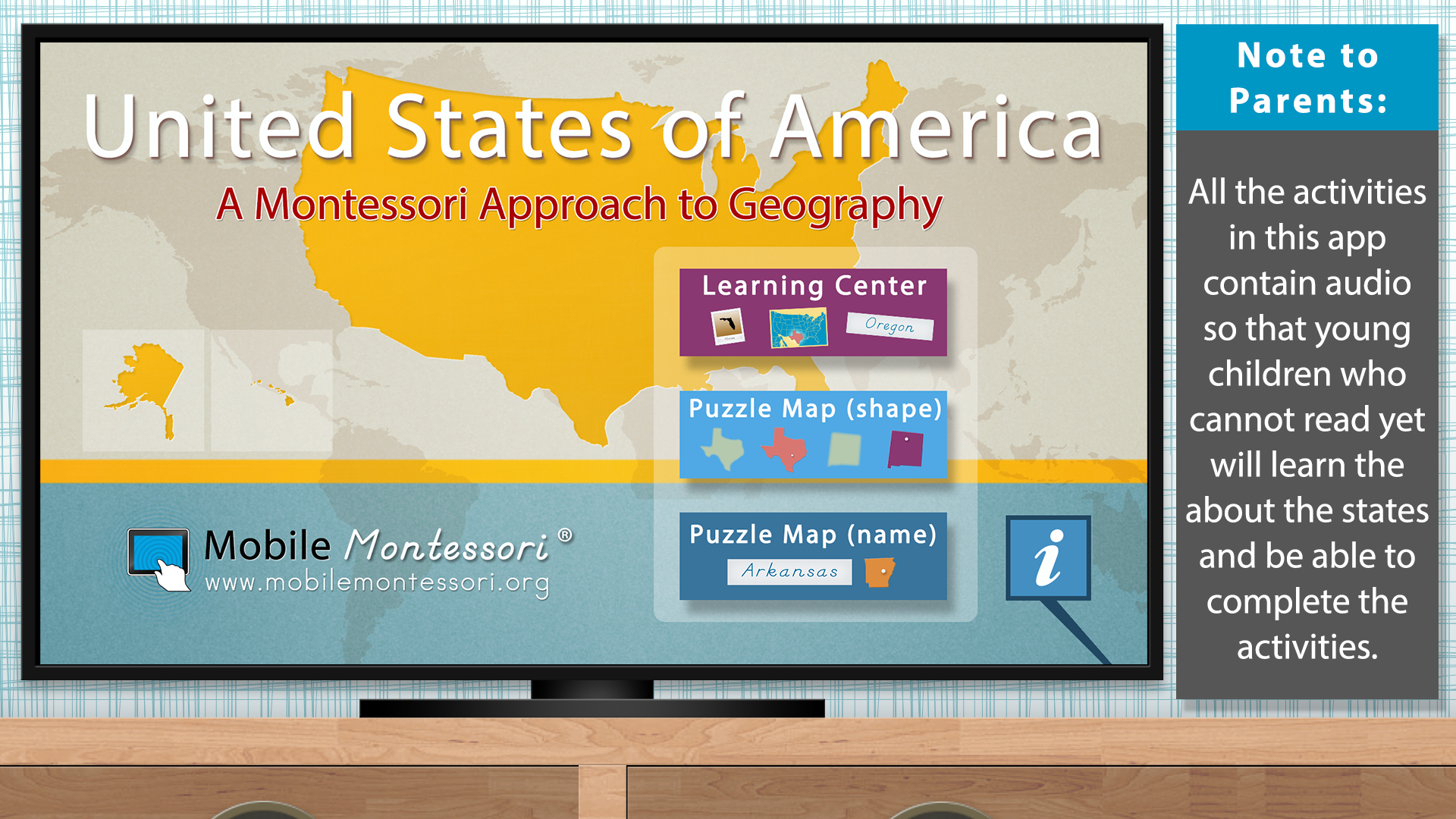 The United States of America - Geography by Mobile Montessori screenshot 5
