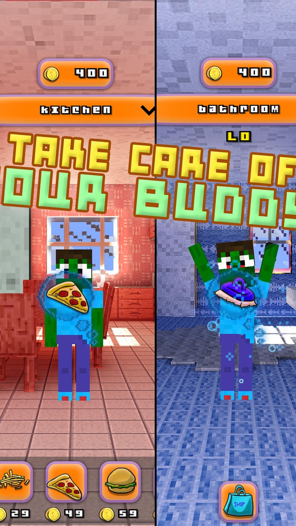 Blocky Bro - My Virtual Talking Pocket Pet With Minecraft Skin Uploader PE Edition hack tool
