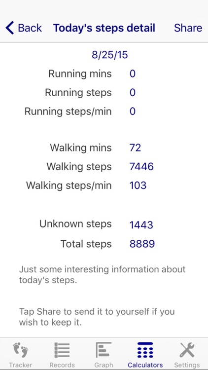 Treadmill Tracker screenshot-2