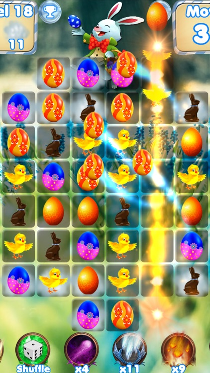 Easter Egg Games - Hunt candy and gummy bunny for kids screenshot-3
