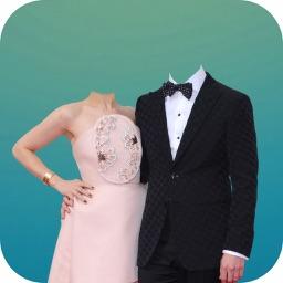 Couple Suit Photo Montages