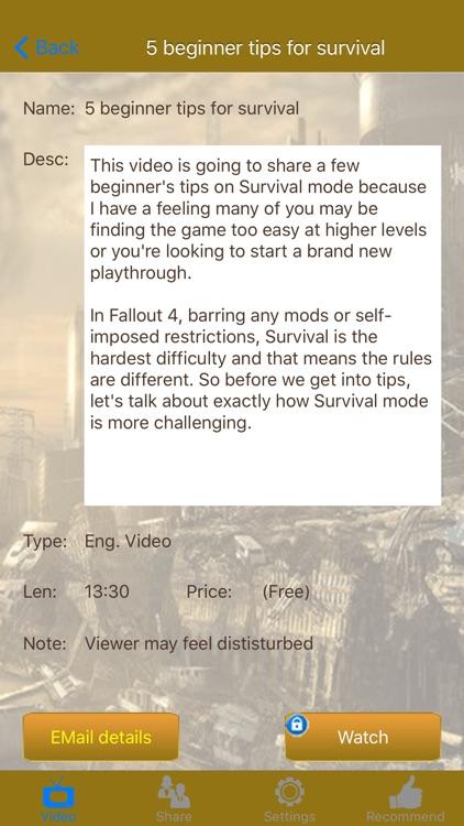 Video Walkthrough for Fallout 4