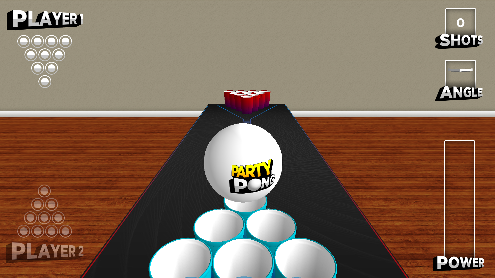 Party Pong - On The Big Screen screenshot 4