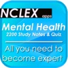 NCLEX Mental Health & psychology 2200 Notes & Quiz