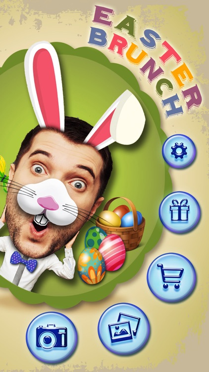 Easter Bunny Yourself Pro - Holiday Photo Sticker Blender with Cute Bunnies & Eggs screenshot-3
