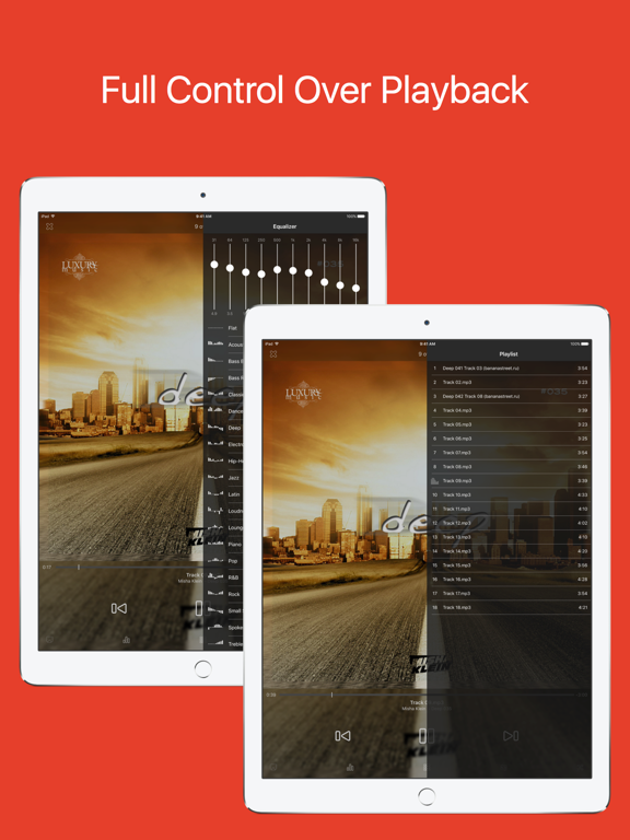 HDPlayer - Video and audio player screenshot