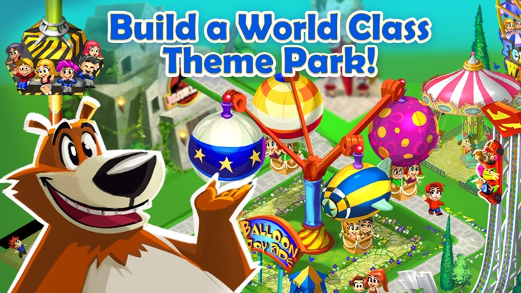Happy Park™ - Best Theme Park Game for Facebook and Twitter screenshot-4