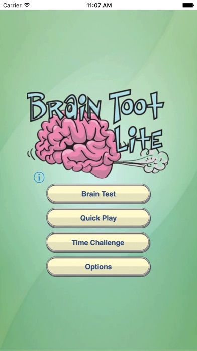 Brain Toot (Free) screenshot one