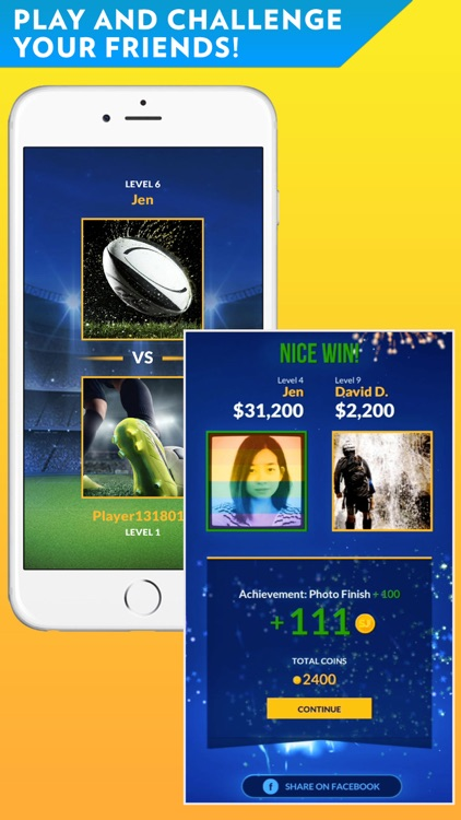 Sports Jeopardy! - Quiz game for fans of football, basketball, baseball, golf and more screenshot-3