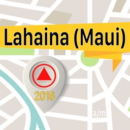 Lahaina (Maui) Offline Map Navigator and Guide