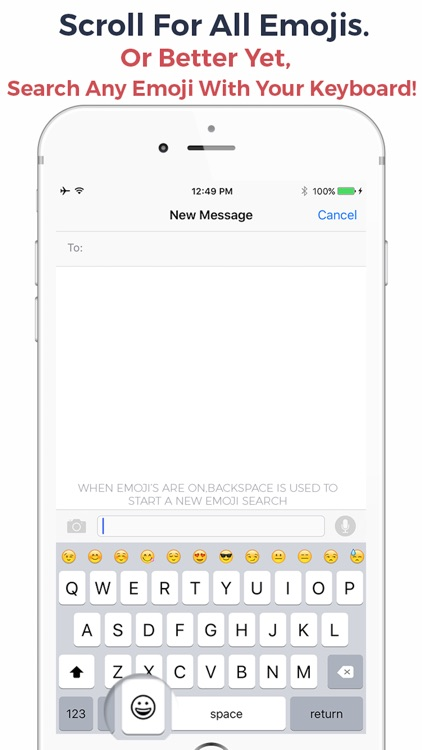 Emojo - Emoji Search Keyboard - Search Emojis By Keyboard