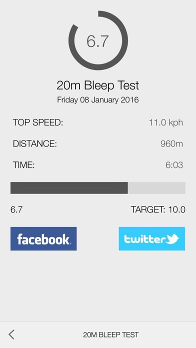 Bleep Test 20m Treadmillのおすすめ画像2