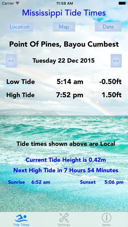 Mississippi Tide Times screenshot-4