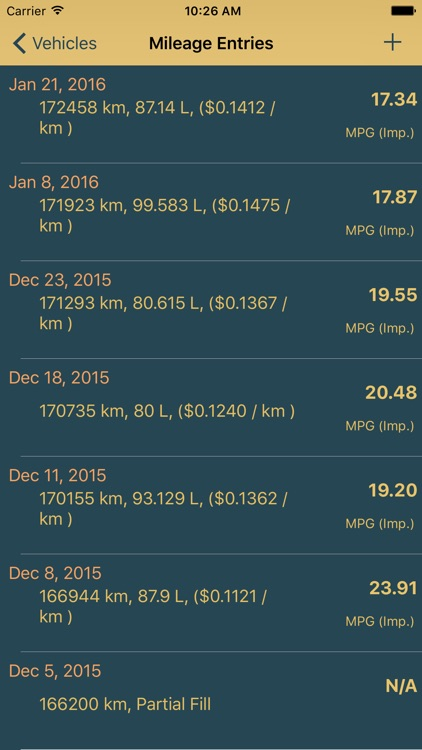 My Mileage Meter screenshot-3