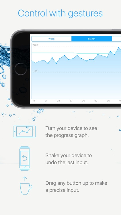 Watercheck – smart water balance tracker! screenshot-1