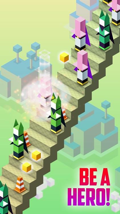 Stair Heroes . Mini Super Hero Survival Game For Free screenshot-3