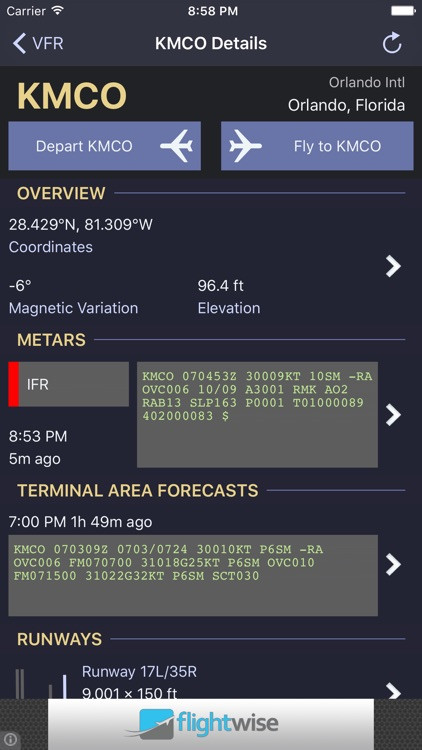 Flightwise Flight Planner screenshot-3