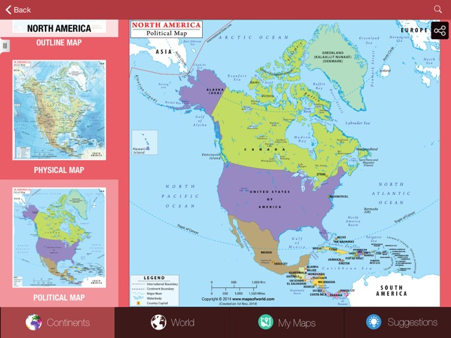 Perceptual regions world geography app lesson review app ed review my world atlas lite screenshot gumiabroncs Images