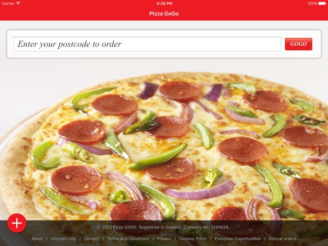 Pizza Gogo On The App Store
