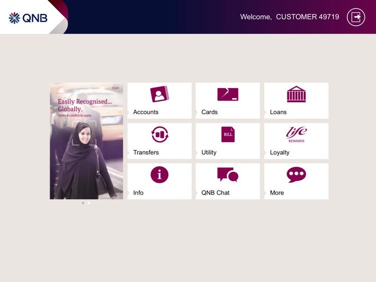 QNB Mobile for iPad screenshot-3