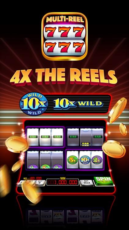 Multi game slot machine