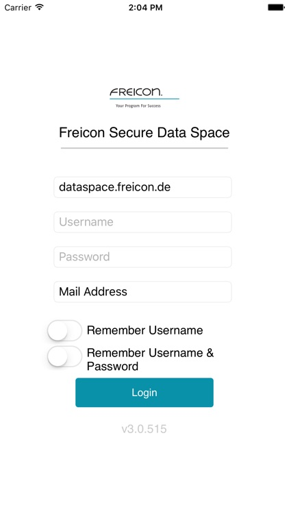 Freicon Secure Data Space