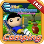 The Englishman Adventure : Camping icon