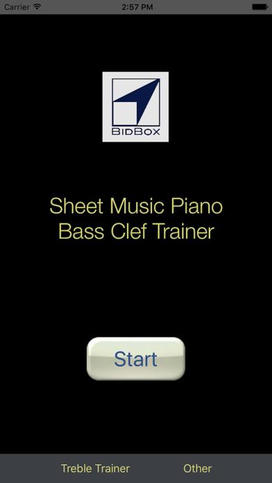 Sheet Music Trainer Piano Bassのおすすめ画像1