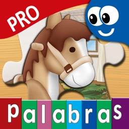 Spanish First Words Book and Kids Puzzles Box Pro Kids Favorite Learning Games in an Interactive Playing Room