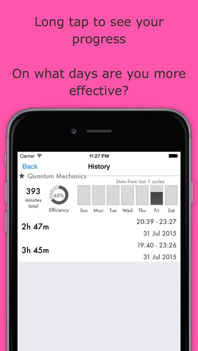 Systematic - Set goals, track time & build habits Screenshot