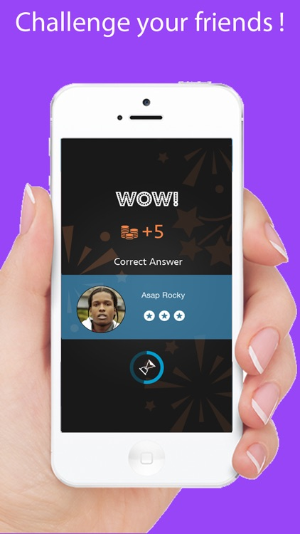 Celebrity Quiz Games - Guess.ing Hip Hop, Rap, Pop Music Singers and Actors screenshot-4