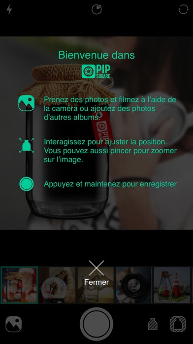 download PIP Camera Square - animated photo collage and picture layout apps 0