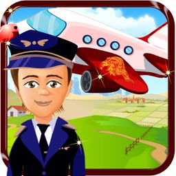 Baby Airline Kids Fun - Modern Airplane Adventure