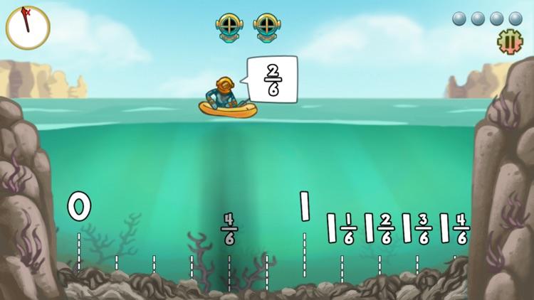 Pearl Diver: Number Line Math Game screenshot-4