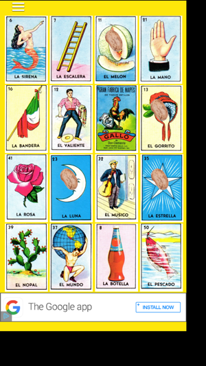 Loteria Time On The App Store