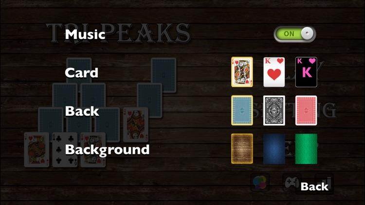 Solitaire Tri-Peaks screenshot-3