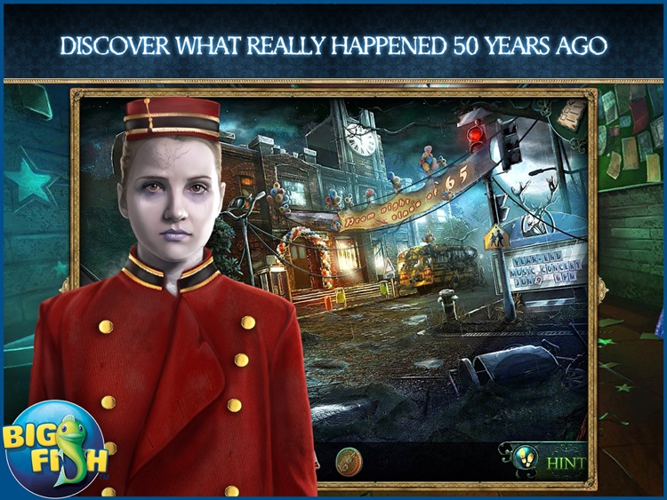 Phantasmat: The Endless Night HD - A Mystery Hidden Object Game (Full) screenshot-0