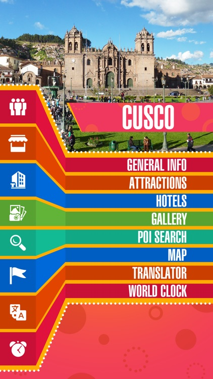 Cusco City Offline Travel Guide