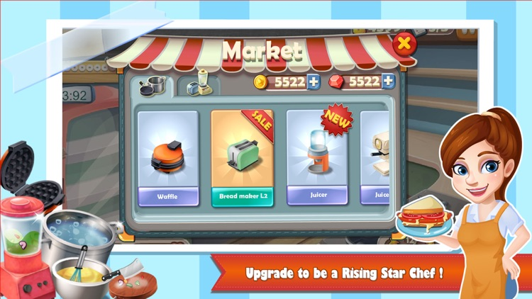 Rising Super Chef:Cooking Game screenshot-3