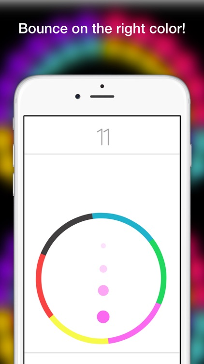 Dot Bounce In Circle- Free Endless Color Game Mode screenshot-4